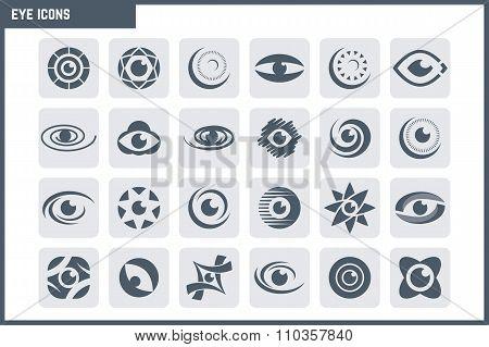 Vector Eye Icon Set