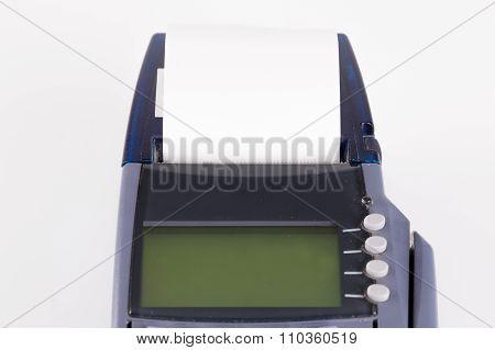 Transaction Paper On Credit Card Machine