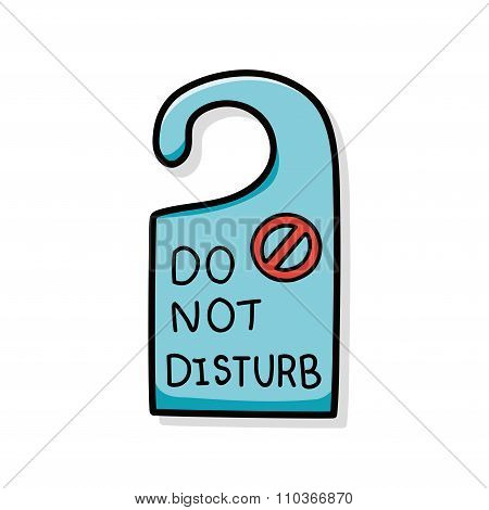 Do Not Disturb Doodle