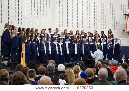Drauden Point Middle School Winter Choir Concert