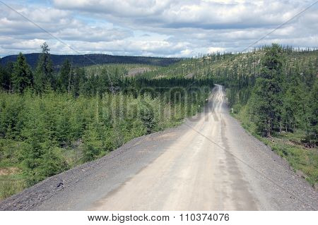 Gravel Road Kolyma State Highway Outback