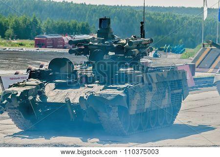 "Tank Support Fighting Vehicle ""terminator"". Russia"