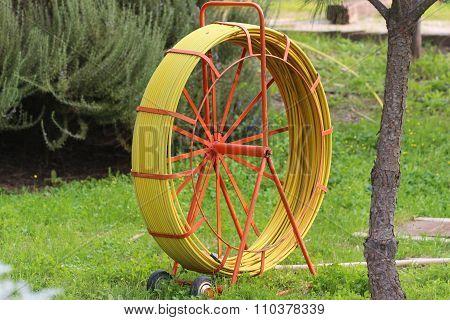 Gardening water hose.