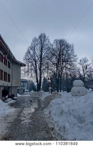 Bansko town municipality building