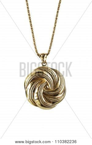 Old Gold Pendant