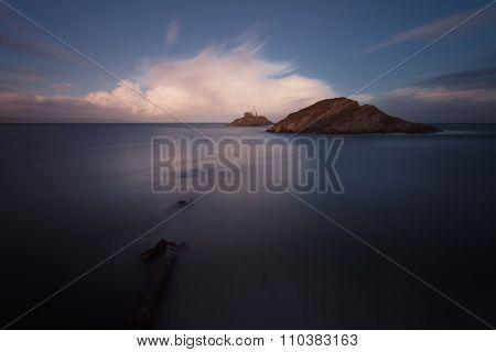 Mumbles lighthouse Swansea