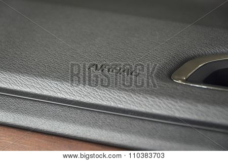Business Car Airbag Panel