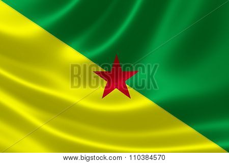 French Guiana's National Flag