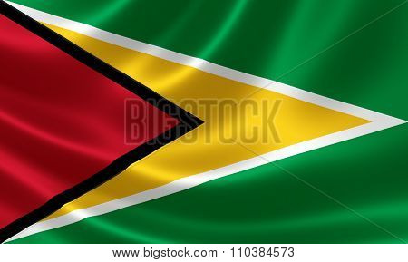 Guyana's National Flag