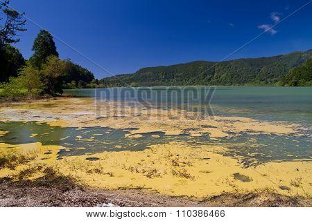 Volcanic lake Furnas