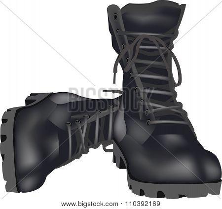 military shoes amphibians