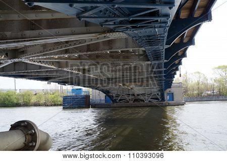 Under the Ruby Street Bridge