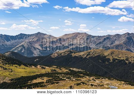 Rocky Mountains Peaks in Colorado