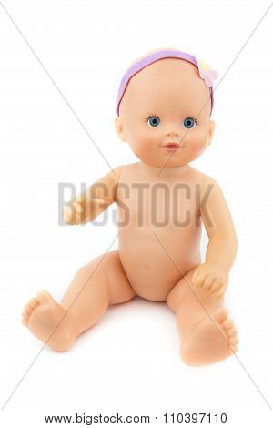 Naked Baby Doll, Isolate Background