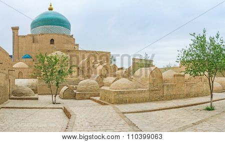The Cemetery Of Khiva
