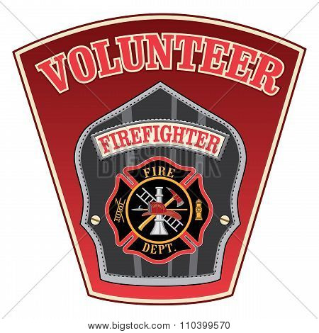 Volunteer Firefighter Shield