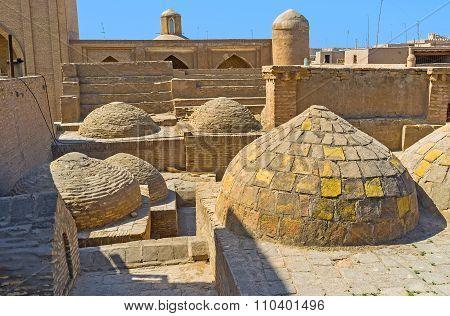 The Brick Domes