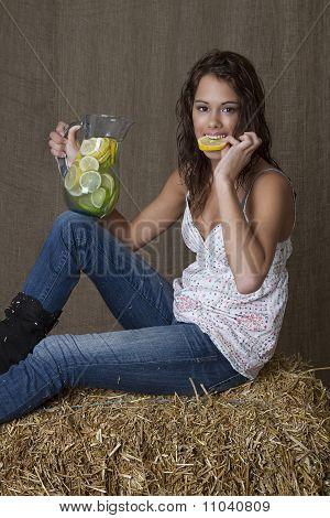 Bitting The Lemon