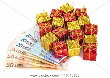 Christmas Parcels With Euro