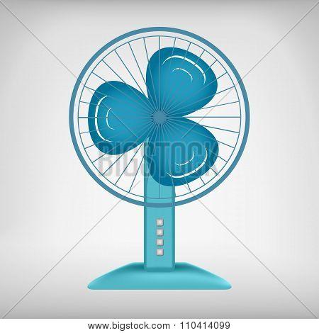 Vector electric fan