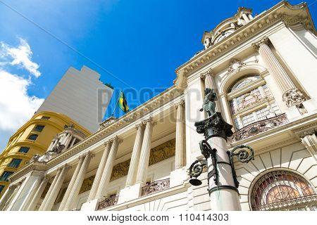 City Hall in Rio de Janeiro, Brazil