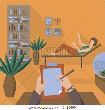 Flat Psychologist Office