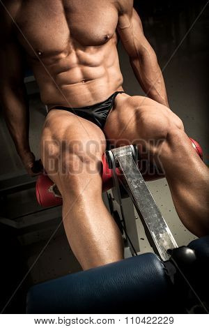 Bodybuilder's Quads