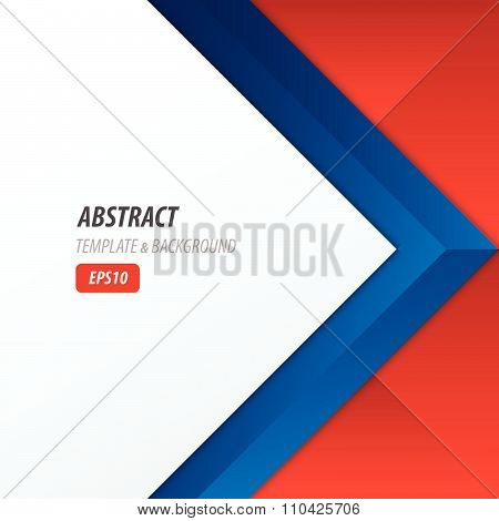 Background Overlap Dimension Modern, Red, Blue Color