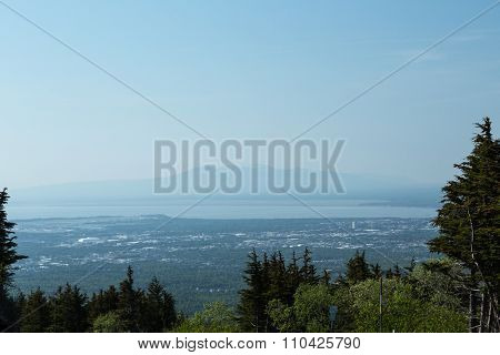 Anchorage and Mount Susitna