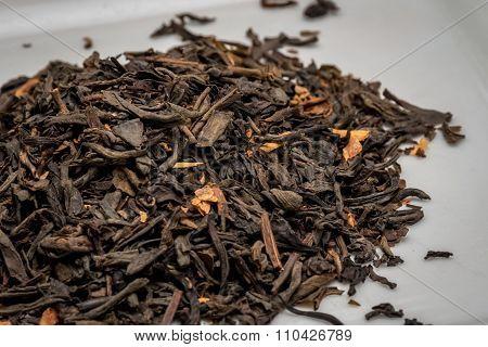 Premium dried tea leaves