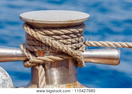 Boat Rope With Knot