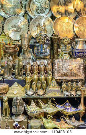 Egyptian Souvenirs Bazaar