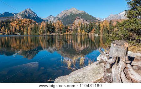 Tarn Strbske Pleso In High Tatras, Slovakia