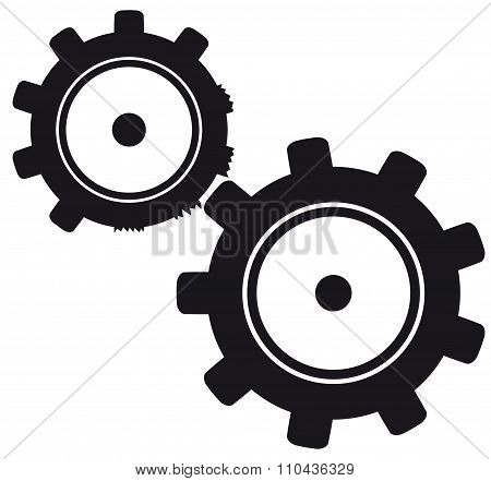damage to the gears in the mechanism