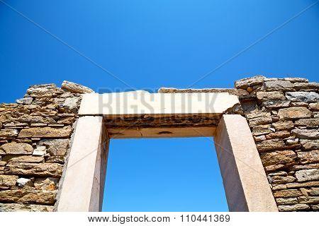 Archeology  In Door   Acropolis And Old Ruin