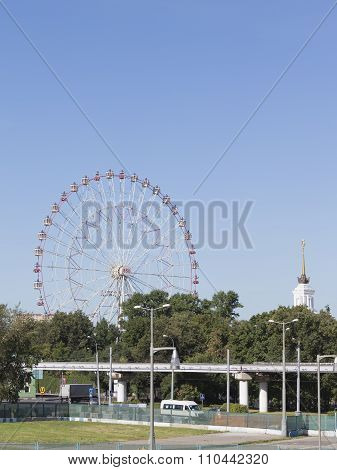Moscow Exhibition Center Ferris Wheel