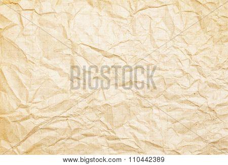 Rumpled Paper Texture