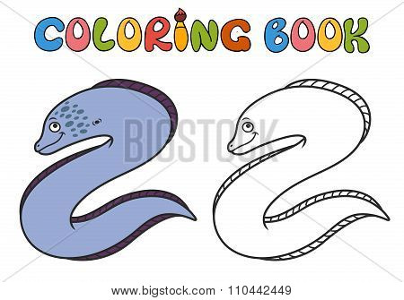 Moray Eel Cartoon