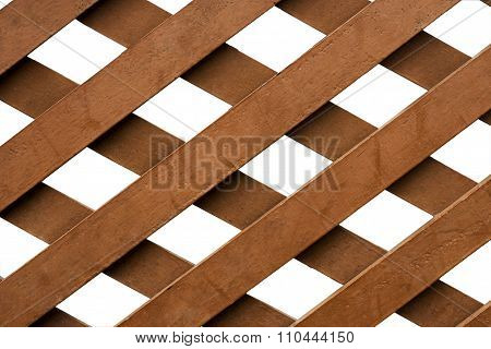 Intersection of the lath