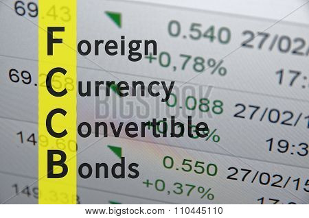 Foreign currency convertible bonds