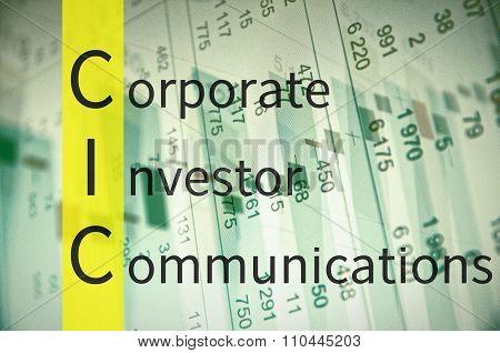 Corporate investor communications