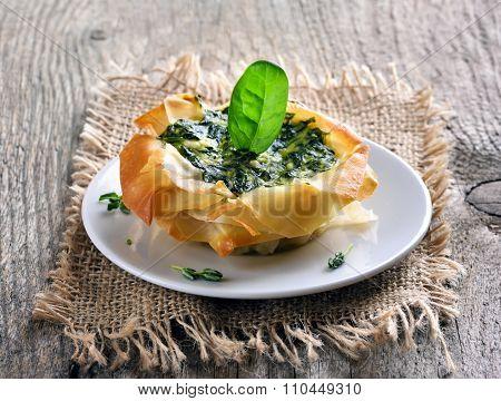 Vegetarian Spinach Pie