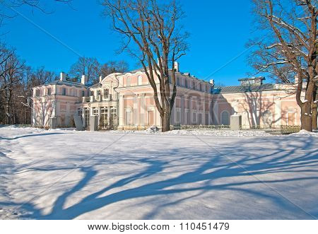 The Chinese Palace. Oranienbaum. Saint-Petersburg. Russia