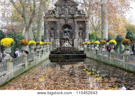 The Medici Fountain, Paris , France.