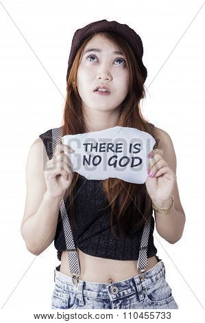 Lonely Girl Is Not Trust In God