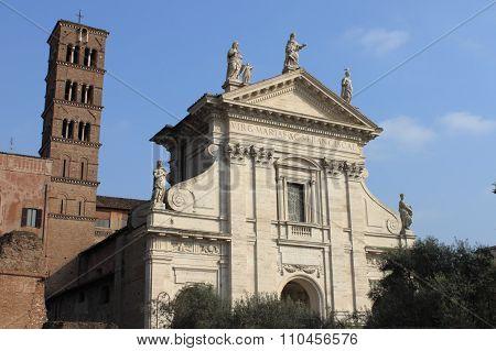 Saint Francesca Romana Basilica in Rome