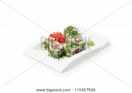 Japanese Seafood Sushi Maki Set