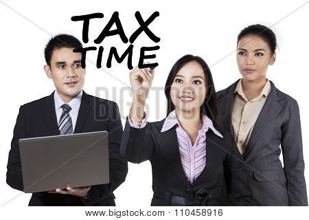 Teamwork With Tax Time