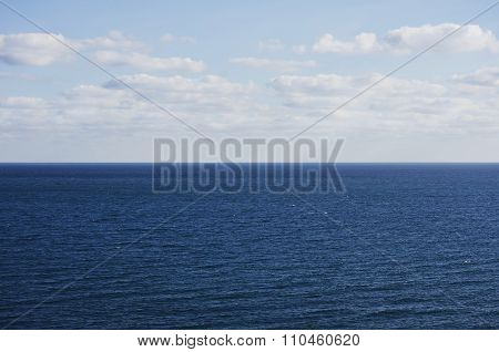 Nature Lines: Blue Sea Horizon