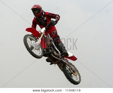 Supercross rider